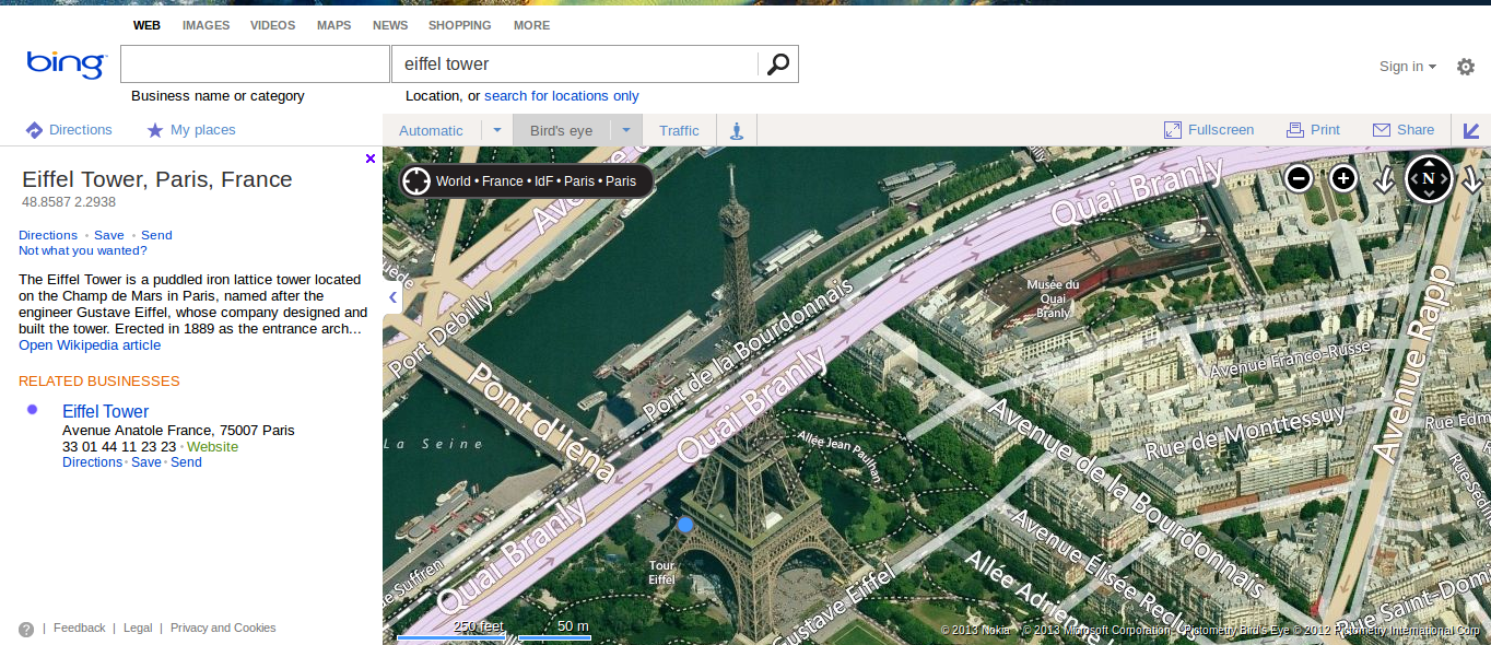 Eiffel Tower, Paris, France - Bing Maps 2013-05-28 21-14-39